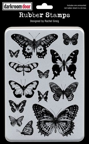 DDRS025_Stamps_Butterflies