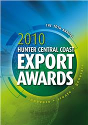 2010 Hunter Central Coast Export Awards Logo
