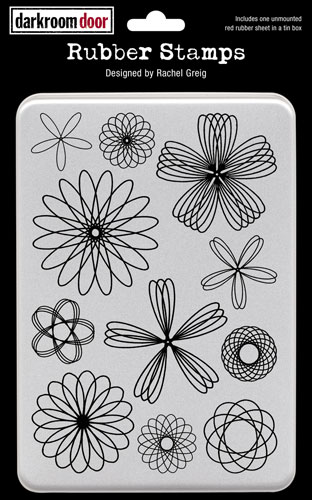 DDRS065_Stamps_Spiral_Flowers