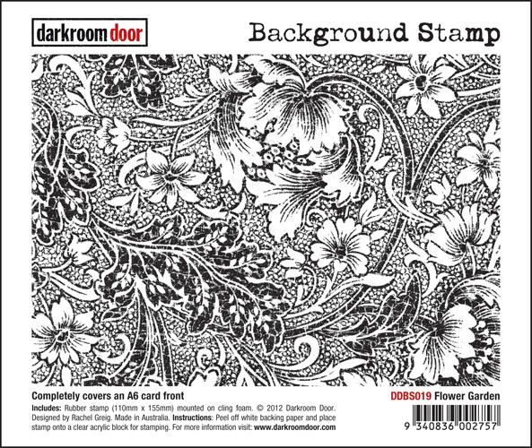 DDBS019_BackgroundStamp_FlowerGarden