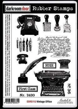 DDRS113_Stamps_VintageOffice