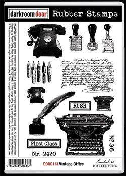 DDRS113_Stamps_VintageOffice